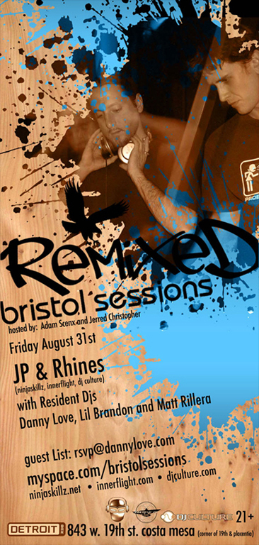 !*JP & Rhines*!_Bristol Sessions@DetroitBar_Friday Night August 31st, 2007