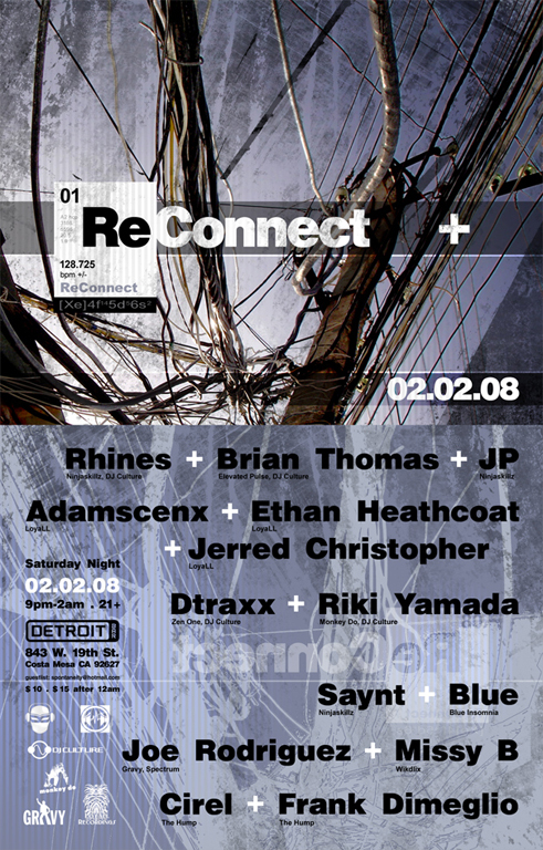 ReConnect :: Saturday Night - February 2nd, 2008